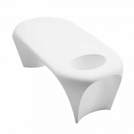Table basse extérieure ou intérieure avec Spumantiera, design 2 pièces - Lily par Myyour