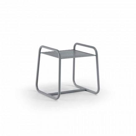 Table basse d'extérieur en métal coloré de haute qualité fabriquée en Italie - Karol