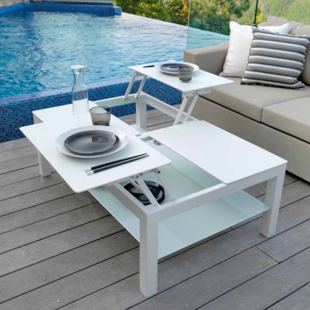 Table basse de jardin de design moderne Chic Grande