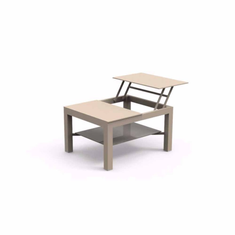 Table basse de jardin de design moderne chic small - Table de jardin moderne ...