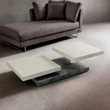 Table basse avec plateau tournant en HPL Made in Italy, Precious - Paris