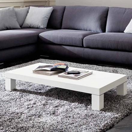 Table basse en Hpl avec pieds en métal Made in Italy - Nebbiolo