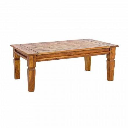 Table basse en bois d'acacia massif Homemotion Design classique - Remo