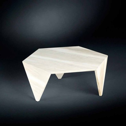 Table basse Ruche en marbre, design moderne