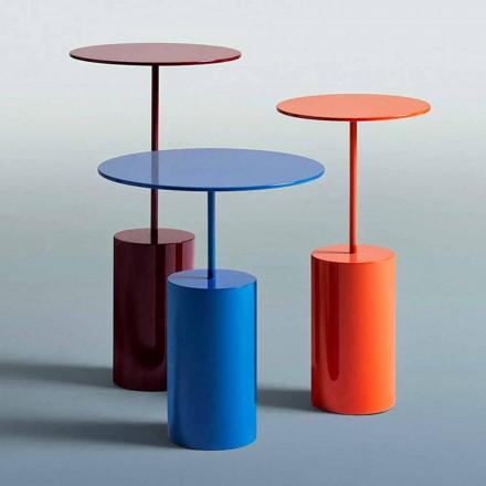 Table ronde colorée de design moderne pour salon - Cocktail