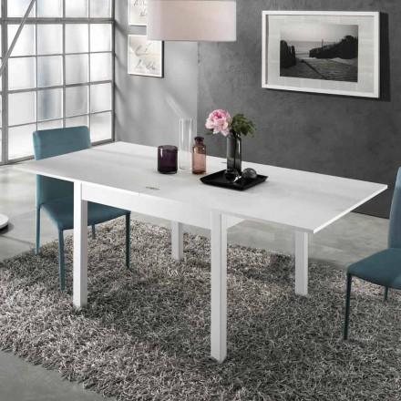 Table extensible à 2 m de 10 sièges de design moderne en bois - Tuttetto