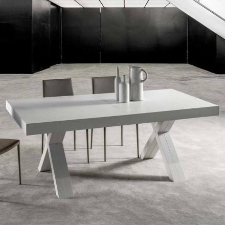 Table Extensible, avec Plateau en Bois Melaminé – Atessa