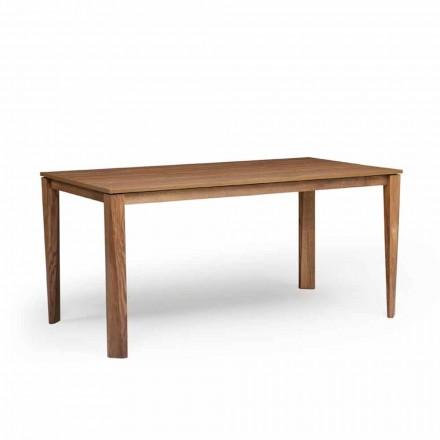Table extensible moderne, avec pieds en bois de frêne, Medicina