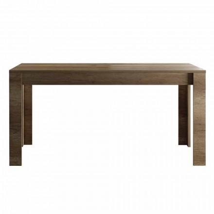 Table extensible jusqu'à 185 cm en mélaminé Made in Italy Design - Ketra