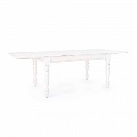 Table extensible classique jusqu'à 240 cm en manguier Homemotion - Tongo