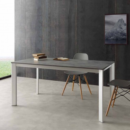 Table à rallonge Urbino en aluminium, extensible jusqu'à 3m de long
