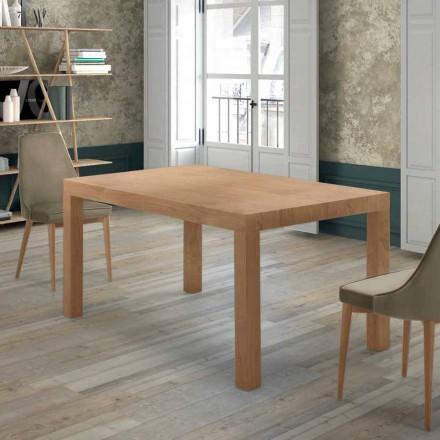 Table Extensible Jusqu'à 470 cm en Bois Plaqué Made in Italy – Gordito