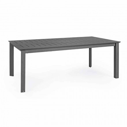 Table d'extérieur extensible en aluminium Design moderne Homemotion - Casper