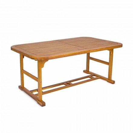 Table extensible jusqu'à 240 cm en bois de jardin, de design - Roxen