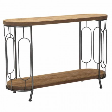Table console de style moderne en fer et MDF - Trisha