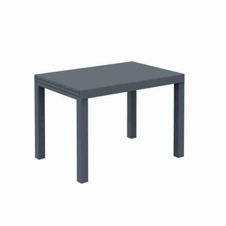 Table d'extérieur extensible jusqu'à 280 cm en métal Made in Italy - Dego
