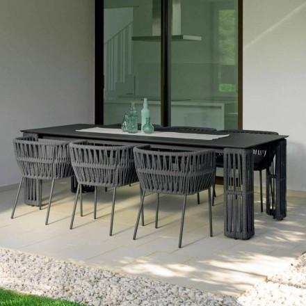 Table de jardin extensible jusqu'à 300 cm Cliff Talenti by Palomba