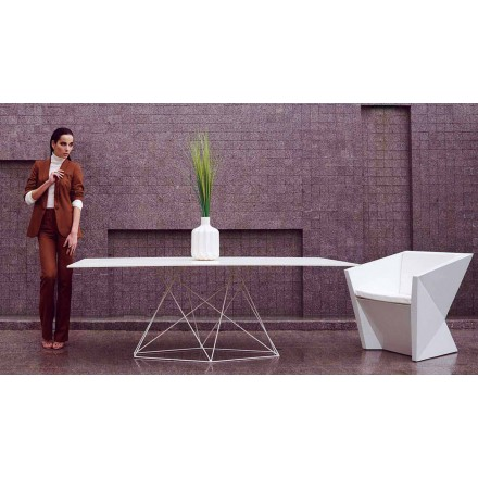 Tables de jardin et d 39 ext rieur fixes de design moderne viadurini - Table de jardin moderne ...