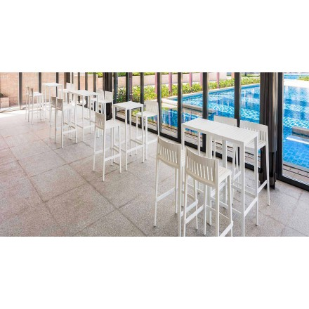 Table de jardin Spritz de Vondom en polypropylène avec fibre de verre