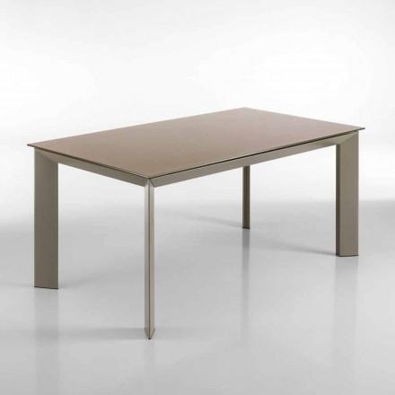 Table de salle à manger extensible Pardo H 76x90x160/220 cm