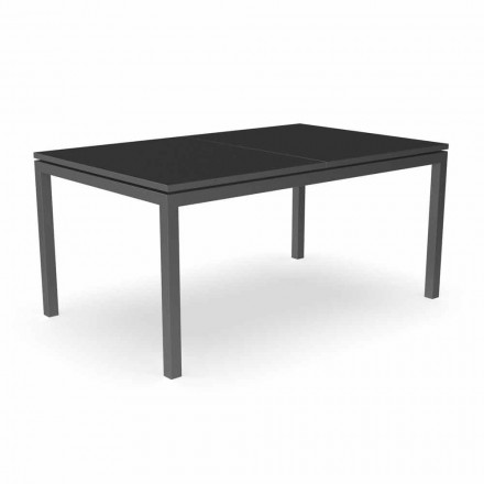 Table à manger de jardin extensible 280 cm en aluminium - Adam par Talenti