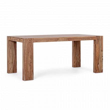 Table à manger en bois Homemotion extensible jusqu'à 265 cm - Bruce