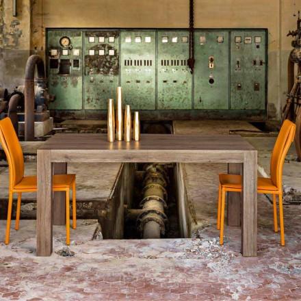Table de salle à manger extensible jusqu'à 320cm de design moderne Oky