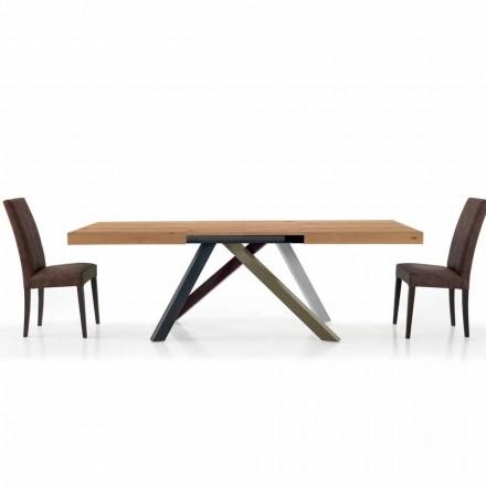 Table de Salle à Manger Extensible jusqu'à 450 cm en Laminé Made in Italy – Salentino