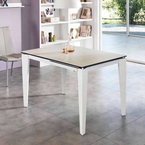 Table Verre 80 Céramique120170xp À Extensible CmBino Manger ukXZTwOPi