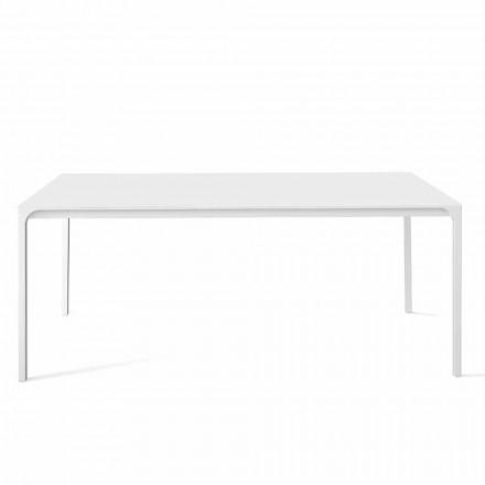Table à manger extensible jusqu'à 265 cm de design Made in Italy - Bonaldo Zen