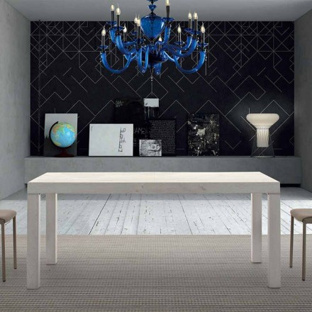 Table en Bois Mélamine Extensible jusqu'à 470 cm Made in Italy – Gordito