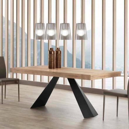 Table de salle à manger extensible jusqu'à 260/280 cm Teramo