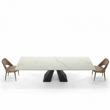 Table Extensible 300 Places en Hypermarbre Made in Italy – Dalmata