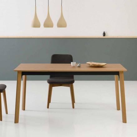 Table à manger extensible moderne, fabriquée en Italie - Sellia