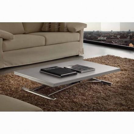Table extensible ou table basse en mélaminé design Nuoro