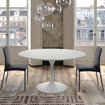 Table Ronde Extensible 170 cm en Laminé Made in Italy – Dollars