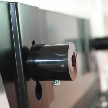 porte-serviettes chauffants miroir dans la conception hydraulique jusqu'à Brian 714W