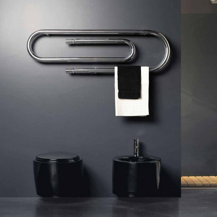Radiateur électrique décoratif chromé Graffe par Scirocco H