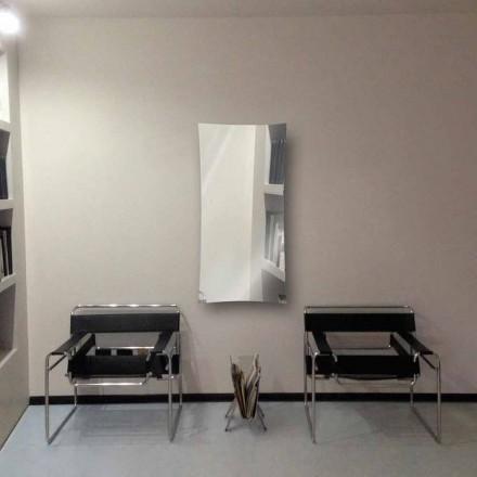 Radiateur miroir électrique de design moderne en verre trempé Barry