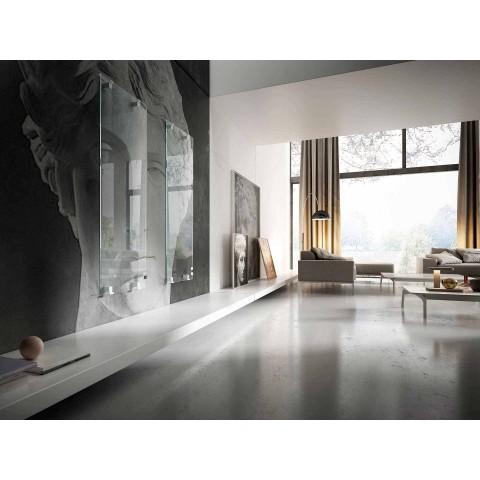Radiateur décoratif design électro-céramique en verre Star, fabriqué en Italie