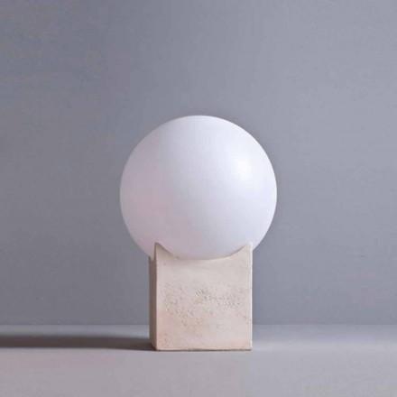Toscot Atlante lampadaire pour extérieur en terre cuite