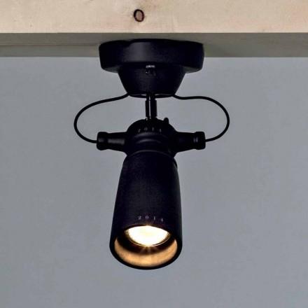 Toscot Battersea spotlight moderne en céramique, fait à la main