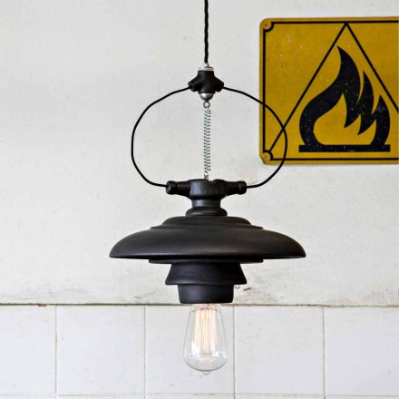 Toscot Battersea lampe suspendue design en céramique,faite à la main