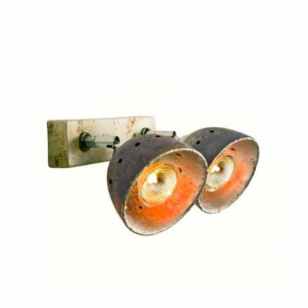Toscot Noceto réglette en terre cuite artisanale
