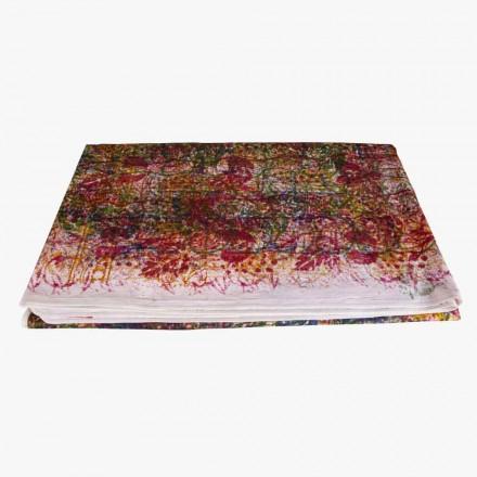 Nappe en coton pièce unique imprimée à la main - Viadurini by Marchi