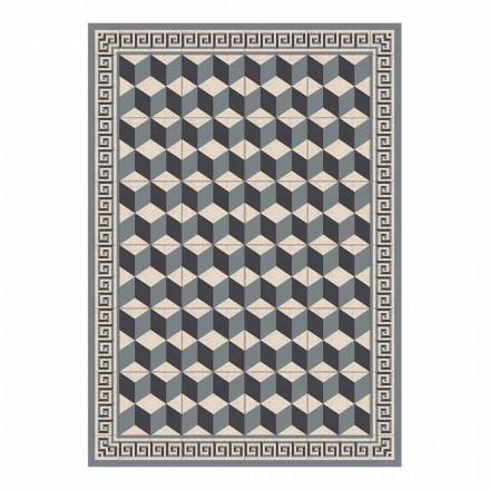 Set de table design américain en PVC et polyester, 6 pièces - Romio