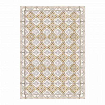 Set de table américain en PVC et polyester de couleur moderne, 6 pièces - Dorado