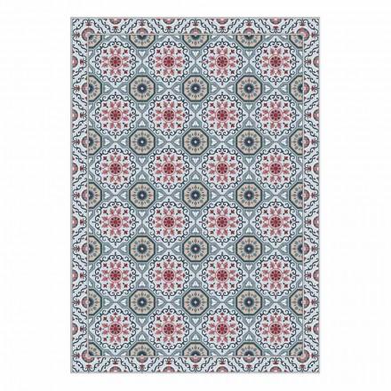 Set de table américain lavable en pvc et polyester, 6 pièces - Meriva