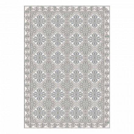 Set de table américain moderne en PVC et polyester à motifs, 6 pièces - Costa