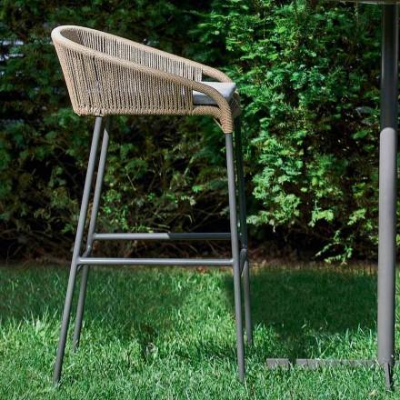 Tabouret de jardin design moderne, ensemble de 2 Varaschin Cricket